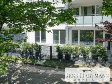 Neuwertig: Barrierefreies Wohnen im Erdgeschoss mit über 60 m² Sonnenterrasse, 45479 Mülheim an der Ruhr, Erdgeschosswohnung